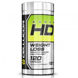 Super HD de Cellucor x 120 cápsulas